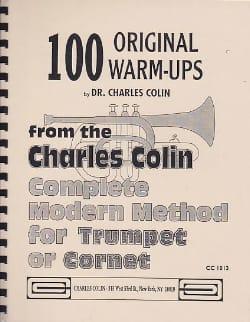 100 Original Warm Ups Charles Colin Partition Trompette - laflutedepan
