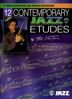 12 Contemporary Jazz Etudes Bob Mintzer Partition laflutedepan