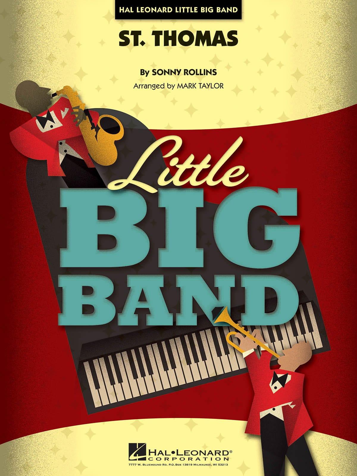 St. Thomas - Little big band series - Sonny Rollins - laflutedepan.com