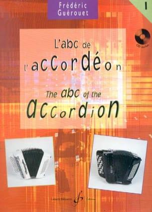 L' ABC de L' Accordéon Volume 1 Frédéric Guérouet laflutedepan