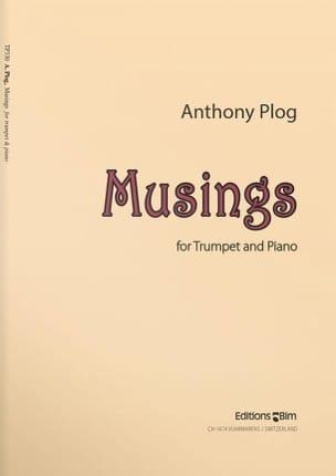 Musings Anthony Plog Partition Trompette - laflutedepan
