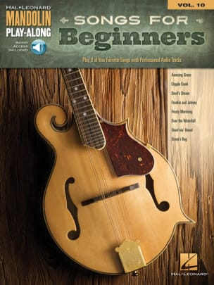 Mandolin Play-Along Volume 10 Songs for Beginners laflutedepan