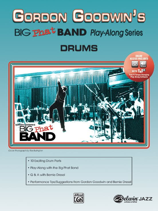 Big Phat Band Play-Along Series: Batterie - laflutedepan.com
