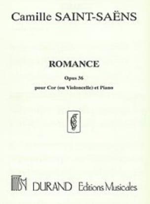 Romance Opus 36 - SAINT-SAËNS - Partition - Cor - laflutedepan.com