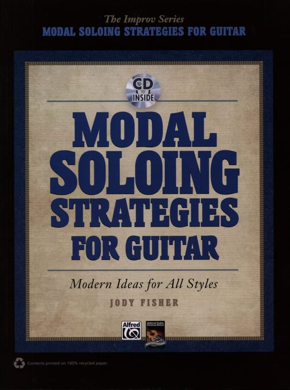 Modal Soloing Strategies for Guitar - Jody Fisher - laflutedepan.com