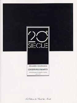 Concerto Pour Trompette Alexander Arutjunjan Partition laflutedepan