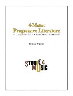 4-Mallet Progressive Literature Partition Marimba - laflutedepan