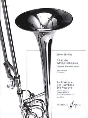 25 Etudes Rythmo Techniques Gilles Senon Partition laflutedepan