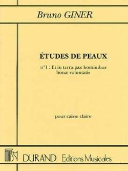 Etudes de peaux n° 1 - et in terra pax hominibus bonae voluntatis laflutedepan