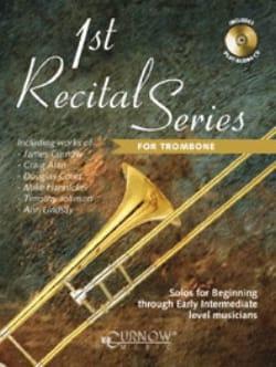 1st recital series Trombone Partition Trombone - laflutedepan