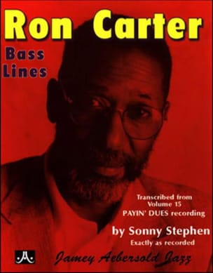 Ron Carter - Bass Lines Transcribed From Volume 15 - Payin' Dues - Partition - di-arezzo.fr