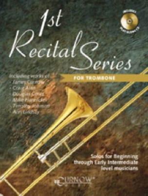 1st recital series Trombone - Partition - laflutedepan.com