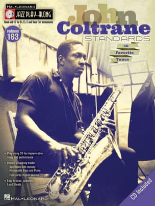Jazz Play-Along Volume 163 - John Coltrane Standards laflutedepan