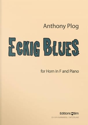 Eckig Blues Anthony Plog Partition Cor - laflutedepan