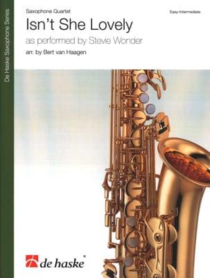 Isn't She Lovely - Quatuor de Saxophones Stevie Wonder laflutedepan