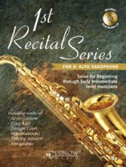 1st Recital series - Partition - Saxophone - laflutedepan.com