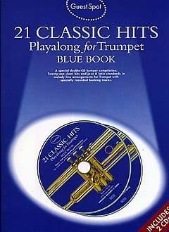 Guest Spot - Blue Book 21 Classic Hits Playalong For Trumpet laflutedepan