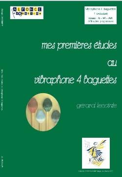 Mes Premières Etudes Au Vibraphone 4 Baguettes laflutedepan