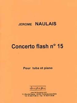 Concerto flash n° 15 Jérôme Naulais Partition Tuba - laflutedepan