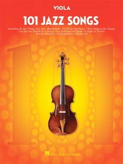101 Jazz Songs for Viola Partition Alto - laflutedepan