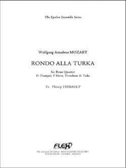 Rondo Alla Turka MOZART Partition Ensemble de cuivres - laflutedepan
