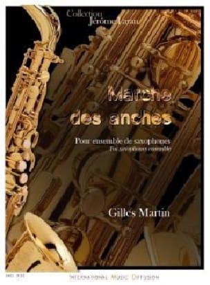 Marche des anches - Gilles Martin - Partition - laflutedepan.com