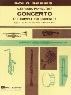Concerto Alexandra Pakhmutova Partition Trompette - laflutedepan