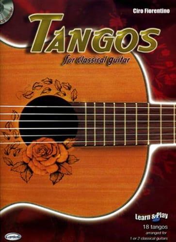 Tangos for Classical Guitar - Partition - laflutedepan.com