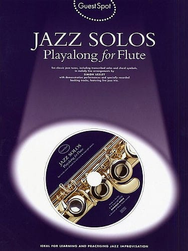 Guest Spot - Jazz Solos Playalong For Flute - laflutedepan.com