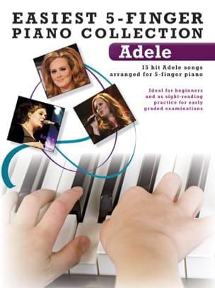 Adele - 最も簡単な5指のピアノコレクション - Partition - di-arezzo.jp