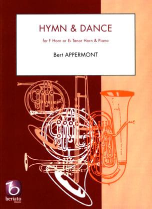 Hymn et dance Bert Appermont Partition Cor - laflutedepan