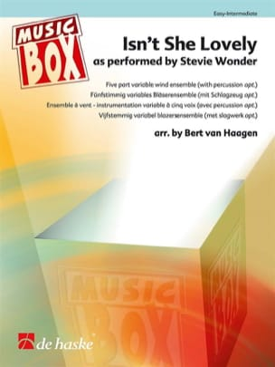 Isn't She Lovely - Music Box Stevie Wonder Partition laflutedepan