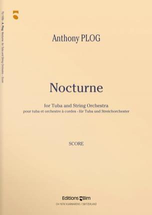 Nocturne - Parties Anthony Plog Partition Tuba - laflutedepan