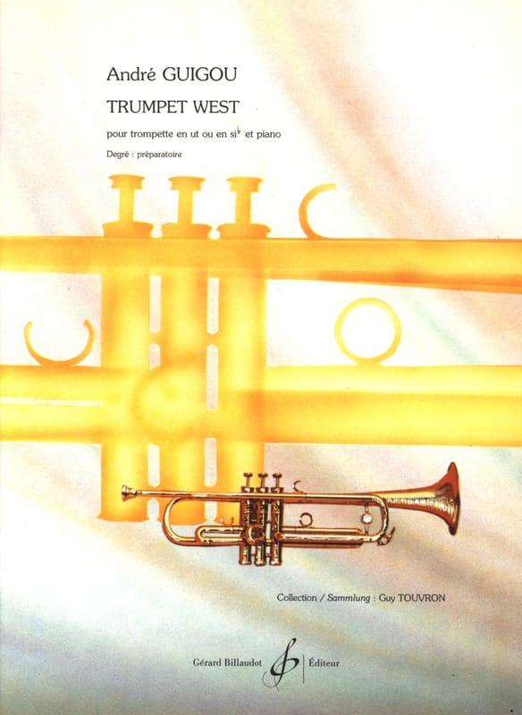 Trumpet West - André Guigou - Partition - Trompette - laflutedepan.com