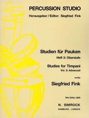 Studies For Timpani Volume 3 - Advanced - laflutedepan.com