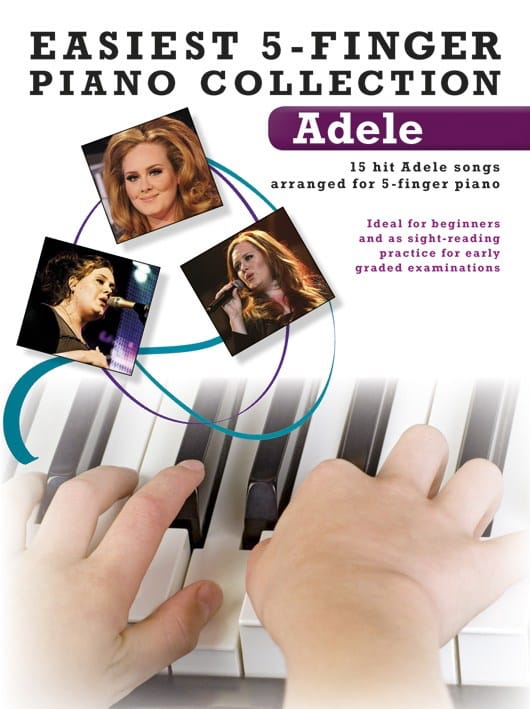 Easiest 5-Finger Piano Collection - Adele - laflutedepan.com