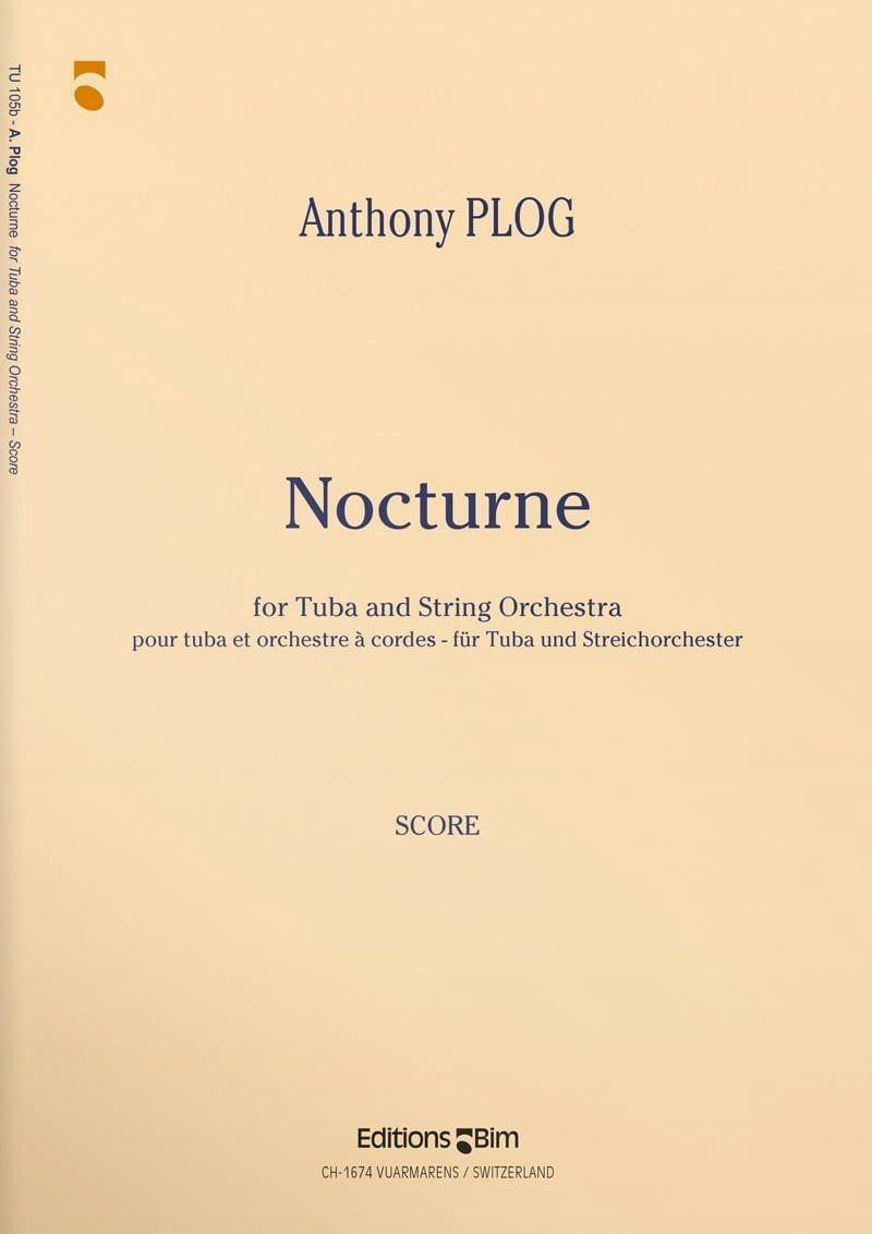 Nocturne - Parties - Anthony Plog - Partition - laflutedepan.com