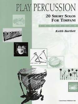 20 Short Solos For Timpani - Advanced Keith Bartlett laflutedepan