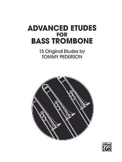 Advanced Etudes - 15 Original Etudes Tommy Pederson laflutedepan