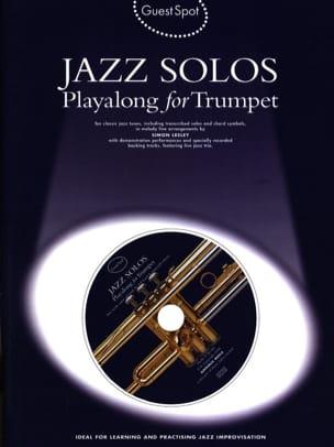 Guest Spot - Jazz Solos Playalong For Trumpet Partition laflutedepan