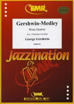 Gershwin-Medley GERSHWIN Partition Ensemble de cuivres - laflutedepan