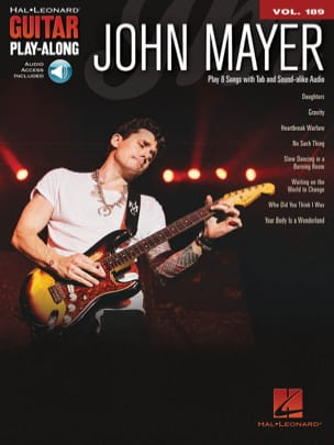 Guitar Play-Along Volume 189 John Mayer John Mayer laflutedepan