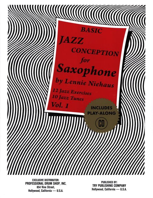 Basic Jazz Conception For Saxophone - Volume 1 - laflutedepan.com