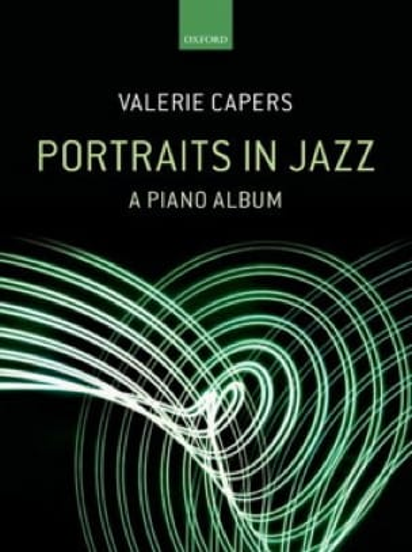 Portraits in jazz - A piano album - Valerie Capers - laflutedepan.com