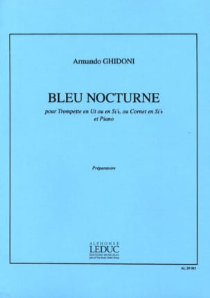 Bleu Nocturne Armando Ghidoni Partition Trompette - laflutedepan