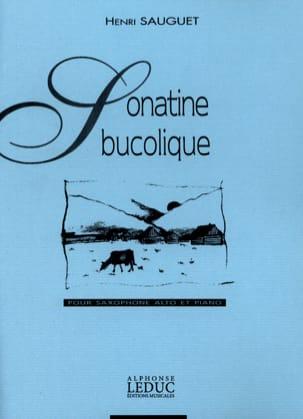 Sonatine Bucolique Henri Sauguet Partition Saxophone - laflutedepan