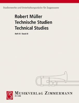 Technical Studies Volume 3 Robert Müller Partition laflutedepan