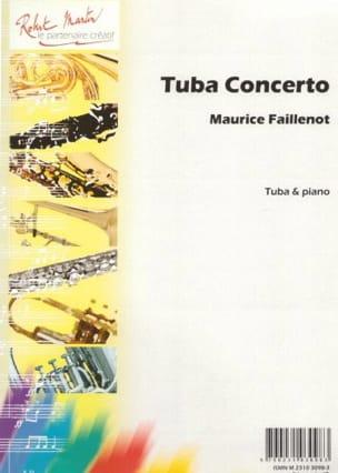 Tuba Concerto Maurice Faillenot Partition Tuba - laflutedepan