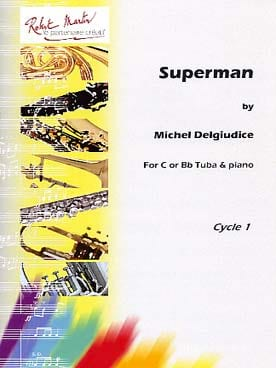Superman - Michel Del Giudice - Partition - Tuba - laflutedepan.com