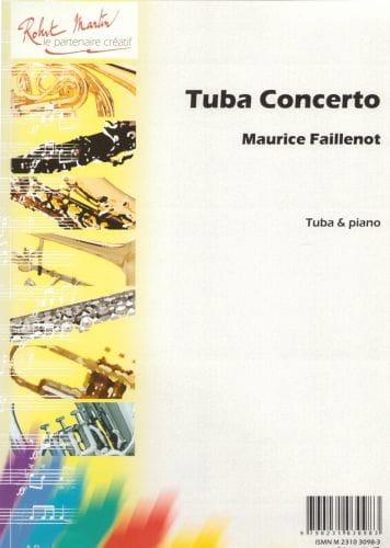 Tuba Concerto - Maurice Faillenot - Partition - laflutedepan.com